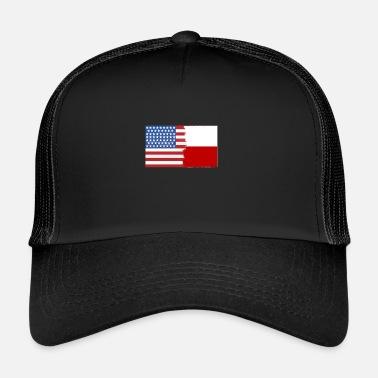 Half Half America Half Chile - Trucker Cap b41c0b9a5a6