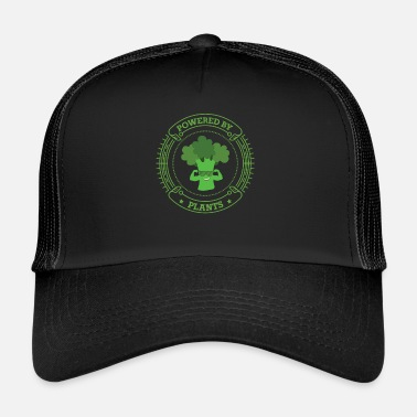 Health Powered By Plants Végétarien Vegan Health - Trucker Cap