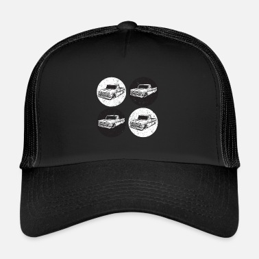 Up Car pick up America Style Classic - Trucker Cap
