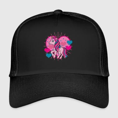 I love unicorns - Trucker Cap