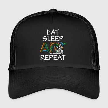 Eat Sleep Art Artiste répétitif J'ai créé Art Teacher - Trucker Cap