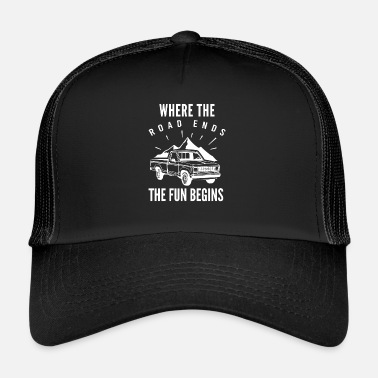 Jeep 4WD terenowy jeep - Trucker Cap
