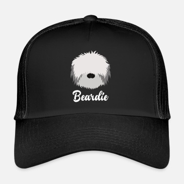 Collie Barbudo Beardie - Collie barbudo - Gorra de camionero