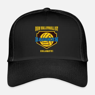 Draguer Drague de volley-ball drole - Trucker Cap