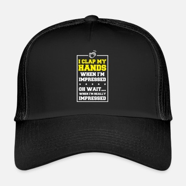 Tape Je tape des mains - Trucker Cap