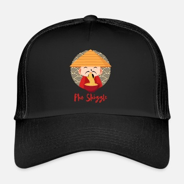 Asian Food Pho Food Asian Noodle Shizzle Food Gift - Trucker Cap