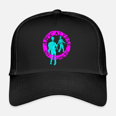 Lilac lilac sky zombies - Trucker Cap