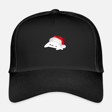 Weird Bongo Cat Kerstmemes - Trucker cap