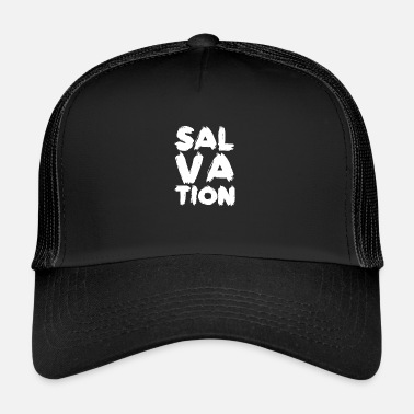 Salvation Salvation Liberation Christian Shirt Gift - Trucker Cap