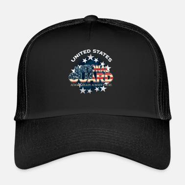 Leger Amerikaanse Nationale Garde altijd in orde Altijd leger - Trucker Cap