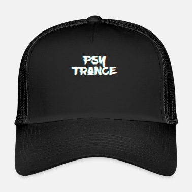 Psy-trance Psy Trance design Gift for Acid Techno Electronic - Trucker Cap
