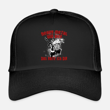 7a9c7f314335a Hard Rock Basura de metales pesados Hard Rock Beer Gift - Gorra trucker