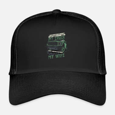 Race Track Dirt Track Racing Racer Auto Racing Race Cars My - Trucker Cap