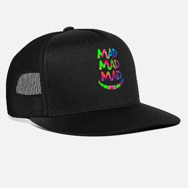Mad Mad Mad Mad Mad Cheshire Cat Grin - Trucker cap