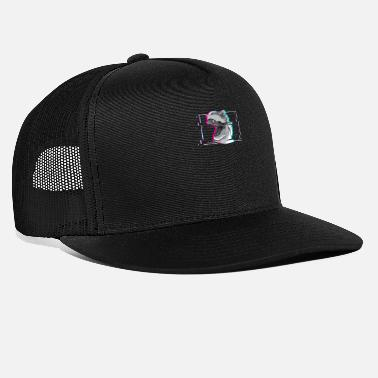 Synthwave Retrowave Soft Grunge Rave 90s 90s Club - Trucker cap