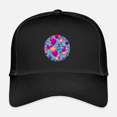 Originell Buketter av blommor pop - Trucker Cap