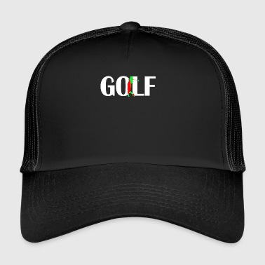 Golf Swing Golfer Gift Golf Course Golf Golf Golf Swing - Trucker Cap