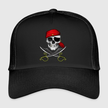 Teschio pirata - Trucker Cap