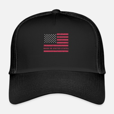 Made In Usa USA-lippu / Made in United States - Trucker Cap