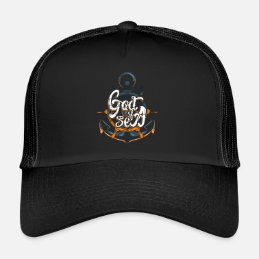Anker God Of Sea - Trucker Cap