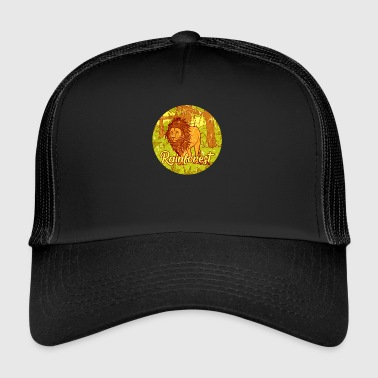 Jungle Lion jungle regenwoud jungle cadeau - Trucker Cap