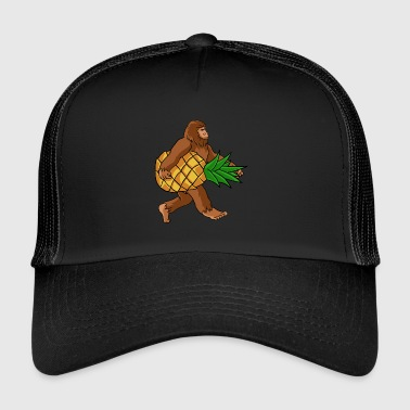 Ananas di trasporto del Bigfoot - Trucker Cap