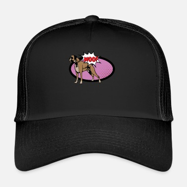 Figure Of Speech Cartoon speech bubble - Trucker Cap
