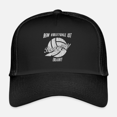 Drague Sports de drague de volleyball disant - Trucker Cap