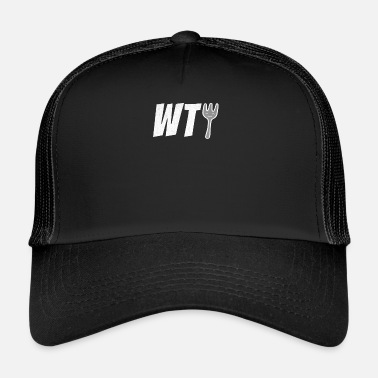 c9727dc97a3 What The Fork WTF Funny Novelty Joke Humor - Trucker Cap