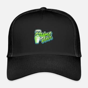 Painter Paint War - Trucker Cap