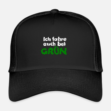 Scuola Patente di guida Car driving driving school Idea regalo - Trucker Cap