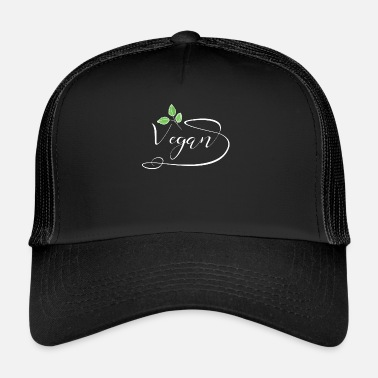 Eco Vegan Shirt · Organic · Eco-Friendly Gift - Trucker Cap