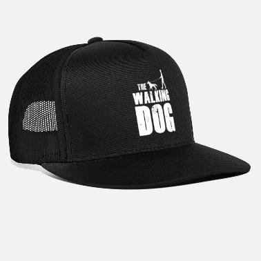 Dog-walking Dog walking walking dog - Trucker Cap