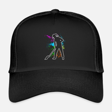 Clean What It Is Cleaning lady Cleaning worker Cleaning Cleaning GiftP - Trucker Cap