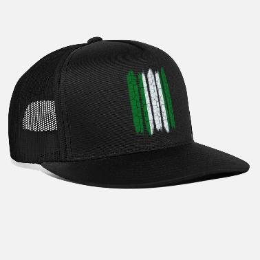 Federale Republiek Federale Republiek Nigeria Cool Flag Modern Gift - Trucker cap
