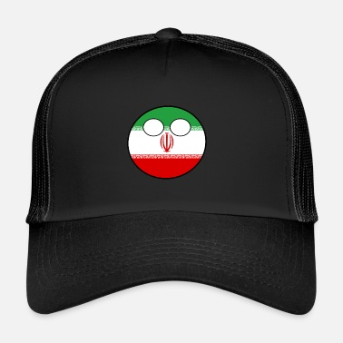Home Country Countryball Country Home Iran - Trucker Cap cd4c69826ac