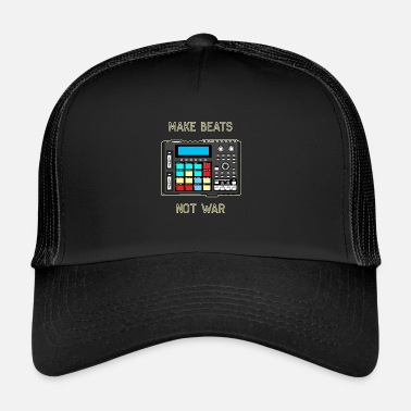 Machine Drum Machine Dope Beat Rap Beatmaker Gift DAW - Trucker Cap