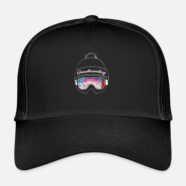 Nysne Snowboard Powder Freeride Apres Ski Board Gave - Trucker cap