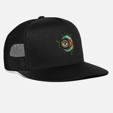 Lupiloop Tattoo moon with eye - Trucker Cap