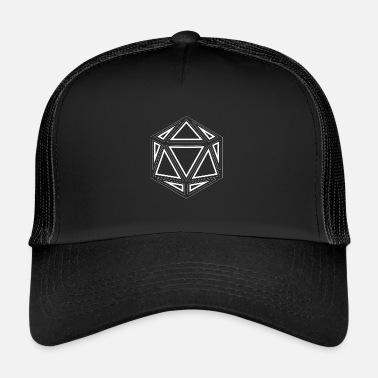 Outlet D20 Outline - Trucker Cap