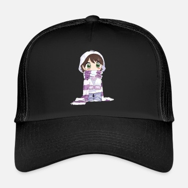 Cow Girl cute girl - Trucker Cap
