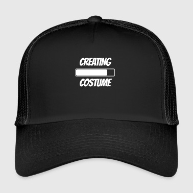Halloween Costume Loading - Trucker Cap