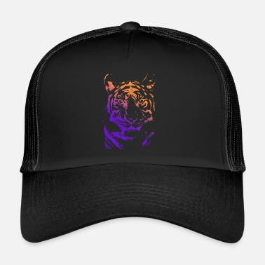 Illustratie Tijger illustratie - Trucker Cap