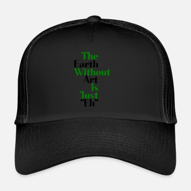 Earth Hour the earth - Trucker Cap
