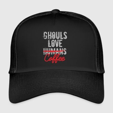 Anime / Manga / Japon: goules amour humains ou coffe - Trucker Cap