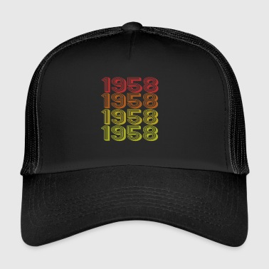 1958 Retro Born In 1958 - Trucker Cap