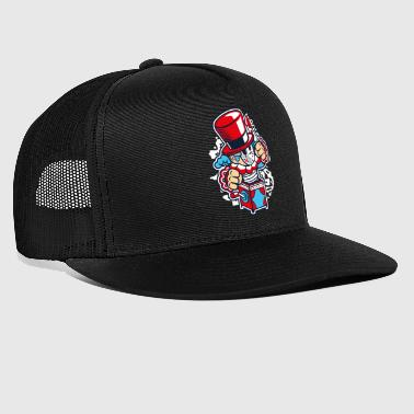 PSYCHO CLOWN - Psycho Clown Cartoon overhemd van de pret - Trucker Cap
