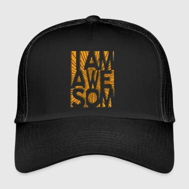 Awesome Jeg er AWESOME - Trucker Cap
