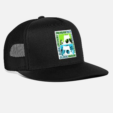 Global Calentamiento global o ecologización global - Gorra trucker