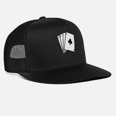 Cards poker cards - Casquette trucker